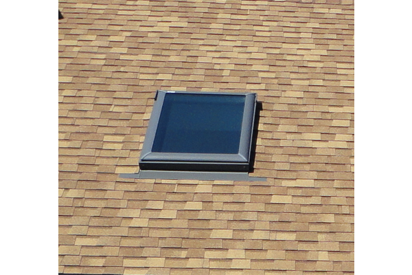 New skylight and roof